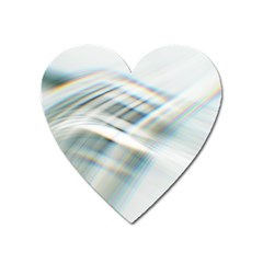 Business Background Abstract Heart Magnet by Simbadda