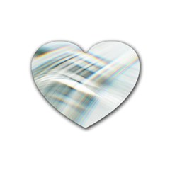 Business Background Abstract Rubber Coaster (heart)  by Simbadda