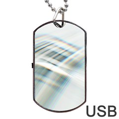 Business Background Abstract Dog Tag Usb Flash (two Sides) by Simbadda