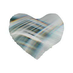 Business Background Abstract Standard 16  Premium Heart Shape Cushions by Simbadda