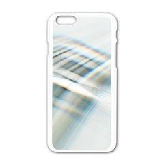 Business Background Abstract Apple Iphone 6/6s White Enamel Case by Simbadda