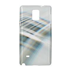 Business Background Abstract Samsung Galaxy Note 4 Hardshell Case by Simbadda