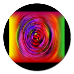 Colors Of My Life Magnet 5  (round)