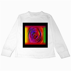Colors Of My Life Kids Long Sleeve T Shirts