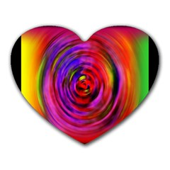 Colors Of My Life Heart Mousepads by Simbadda