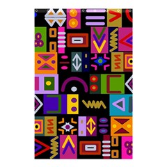 Abstract A Colorful Modern Illustration Shower Curtain 48  X 72  (small)  by Simbadda