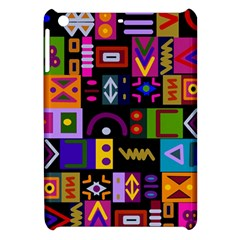Abstract A Colorful Modern Illustration Apple Ipad Mini Hardshell Case by Simbadda