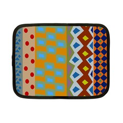 Abstract A Colorful Modern Illustration Netbook Case (small)  by Simbadda
