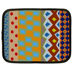 Abstract A Colorful Modern Illustration Netbook Case (xxl)  by Simbadda