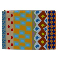 Abstract A Colorful Modern Illustration Cosmetic Bag (xxl)