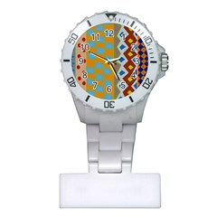 Abstract A Colorful Modern Illustration Plastic Nurses Watch by Simbadda