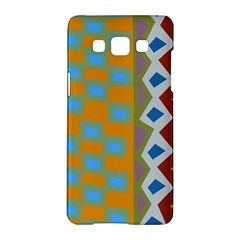 Abstract A Colorful Modern Illustration Samsung Galaxy A5 Hardshell Case  by Simbadda