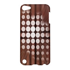 Technical Background With Circles And A Burst Of Color Apple Ipod Touch 5 Hardshell Case by Simbadda