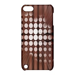 Technical Background With Circles And A Burst Of Color Apple Ipod Touch 5 Hardshell Case With Stand by Simbadda
