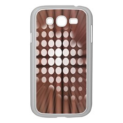Technical Background With Circles And A Burst Of Color Samsung Galaxy Grand Duos I9082 Case (white)