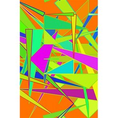 Background With Colorful Triangles 5 5  X 8 5  Notebooks by Simbadda