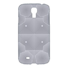 Grid Squares And Rectangles Mirror Images Colors Samsung Galaxy S4 I9500/i9505 Hardshell Case by Simbadda