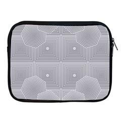 Grid Squares And Rectangles Mirror Images Colors Apple Ipad 2/3/4 Zipper Cases by Simbadda