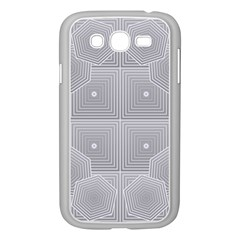 Grid Squares And Rectangles Mirror Images Colors Samsung Galaxy Grand Duos I9082 Case (white) by Simbadda