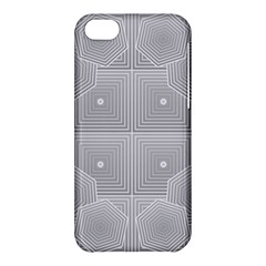 Grid Squares And Rectangles Mirror Images Colors Apple Iphone 5c Hardshell Case by Simbadda