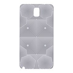 Grid Squares And Rectangles Mirror Images Colors Samsung Galaxy Note 3 N9005 Hardshell Back Case