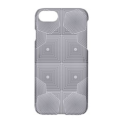 Grid Squares And Rectangles Mirror Images Colors Apple Iphone 7 Hardshell Case by Simbadda
