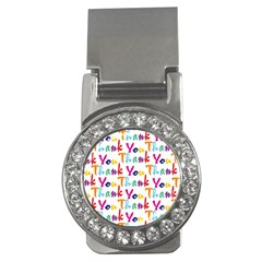 Wallpaper With The Words Thank You In Colorful Letters Money Clips (cz)  by Simbadda