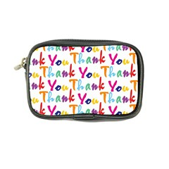 Wallpaper With The Words Thank You In Colorful Letters Coin Purse by Simbadda
