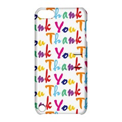 Wallpaper With The Words Thank You In Colorful Letters Apple Ipod Touch 5 Hardshell Case With Stand by Simbadda
