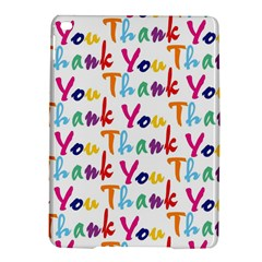 Wallpaper With The Words Thank You In Colorful Letters Ipad Air 2 Hardshell Cases by Simbadda