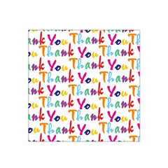 Wallpaper With The Words Thank You In Colorful Letters Satin Bandana Scarf