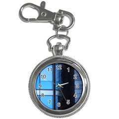 Modern Office Window Architecture Detail Key Chain Watches by Simbadda
