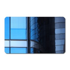 Modern Office Window Architecture Detail Magnet (rectangular) by Simbadda