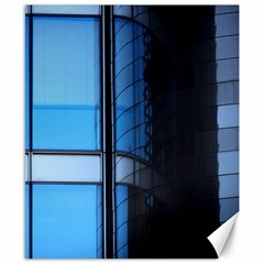 Modern Office Window Architecture Detail Canvas 8  X 10  by Simbadda