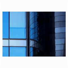 Modern Office Window Architecture Detail Large Glasses Cloth (2 Side) by Simbadda