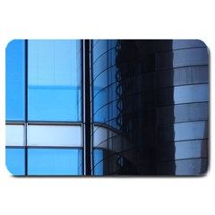 Modern Office Window Architecture Detail Large Doormat  by Simbadda