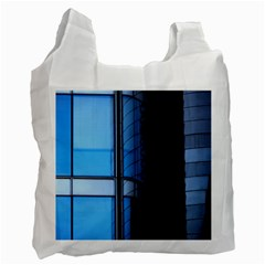 Modern Office Window Architecture Detail Recycle Bag (one Side) by Simbadda