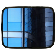 Modern Office Window Architecture Detail Netbook Case (xxl)  by Simbadda