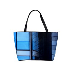 Modern Office Window Architecture Detail Shoulder Handbags by Simbadda