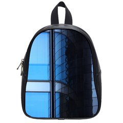 Modern Office Window Architecture Detail School Bags (small)  by Simbadda