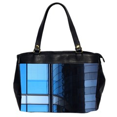 Modern Office Window Architecture Detail Office Handbags (2 Sides)  by Simbadda