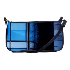 Modern Office Window Architecture Detail Shoulder Clutch Bags by Simbadda