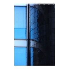 Modern Office Window Architecture Detail Shower Curtain 48  X 72  (small)  by Simbadda