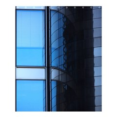 Modern Office Window Architecture Detail Shower Curtain 60  X 72  (medium)  by Simbadda