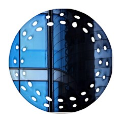 Modern Office Window Architecture Detail Ornament (round Filigree) by Simbadda