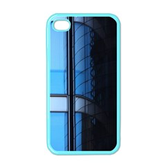 Modern Office Window Architecture Detail Apple Iphone 4 Case (color) by Simbadda