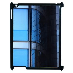 Modern Office Window Architecture Detail Apple Ipad 2 Case (black) by Simbadda