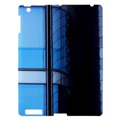 Modern Office Window Architecture Detail Apple Ipad 3/4 Hardshell Case by Simbadda