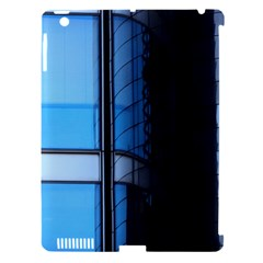 Modern Office Window Architecture Detail Apple Ipad 3/4 Hardshell Case (compatible With Smart Cover) by Simbadda