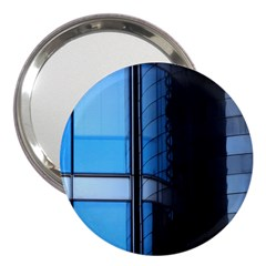 Modern Office Window Architecture Detail 3  Handbag Mirrors by Simbadda